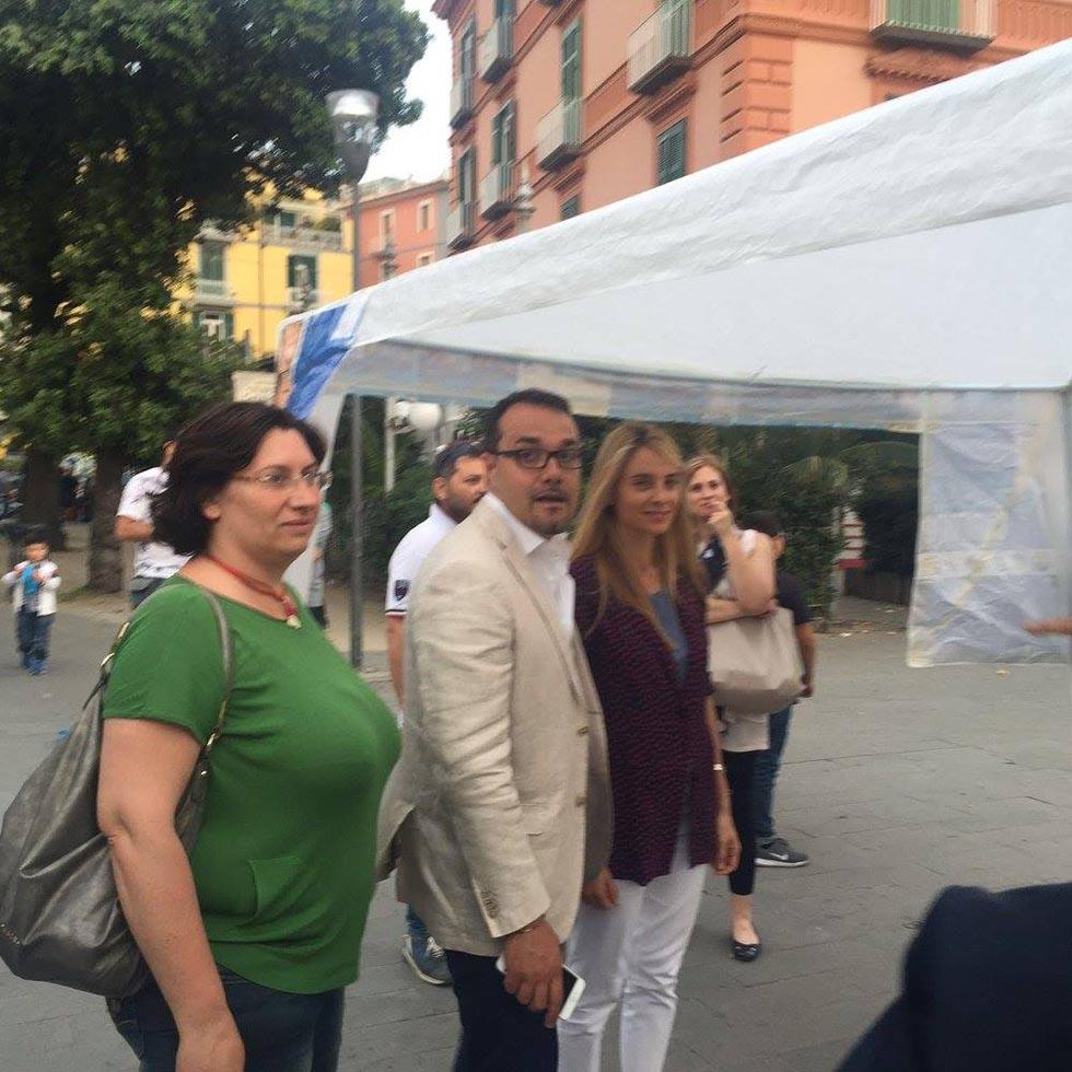 Barbara Matera e Gaetano CImmino