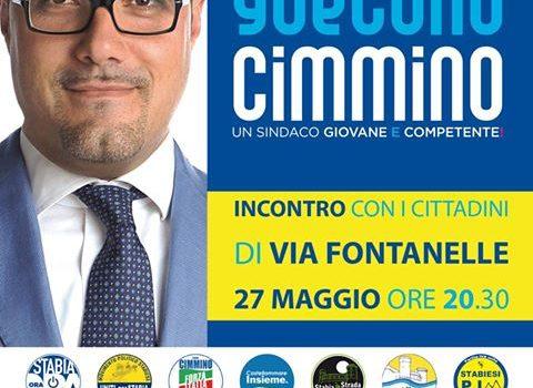 Incontro cittadini di via Fontanelle