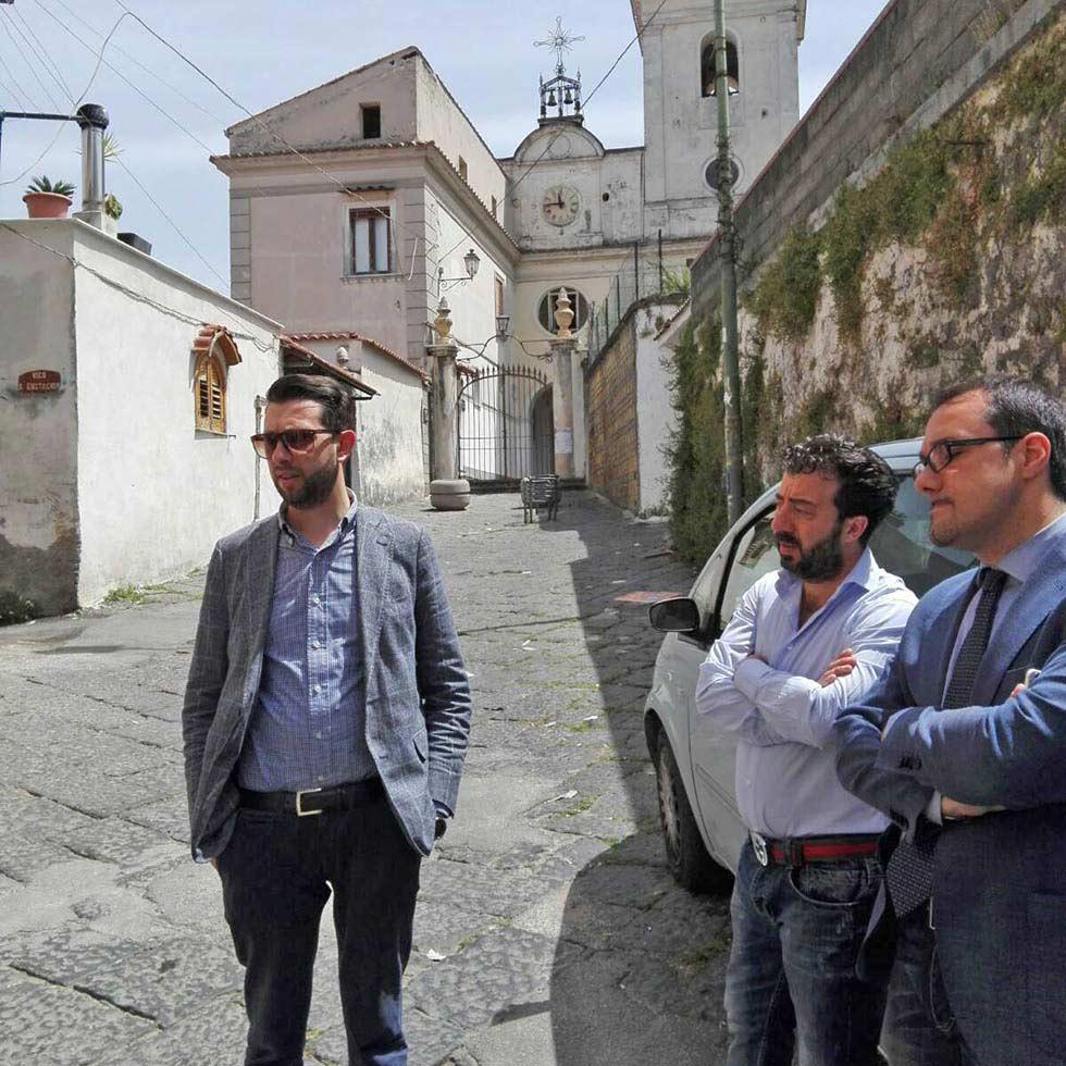 zona Privati Castellammare di Stabia Gaetano Cimmino ascolta i cittadini