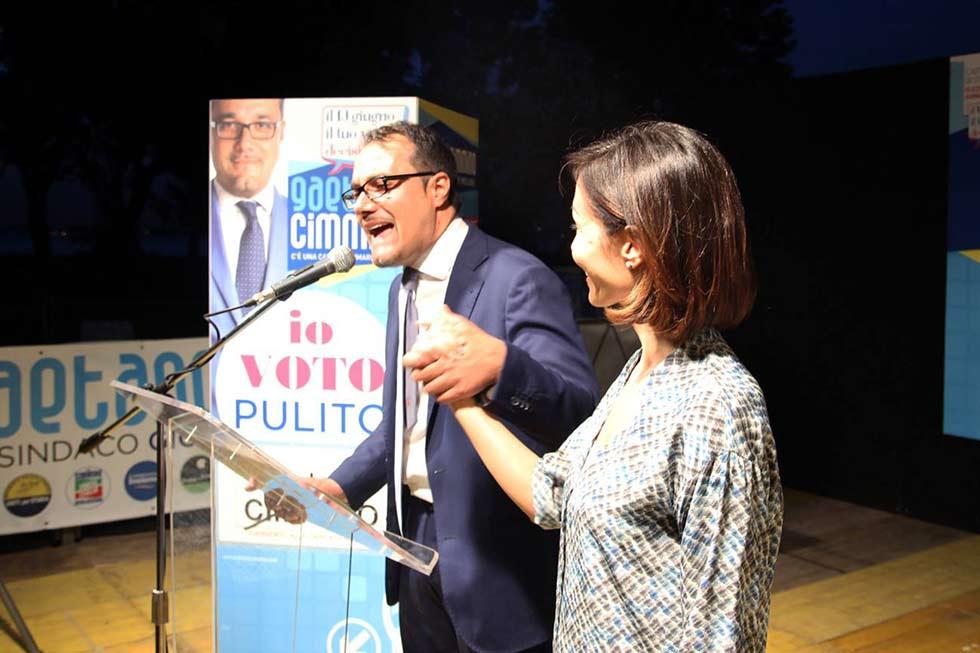 19 giugno chiusura campagna elettoriale cimmino