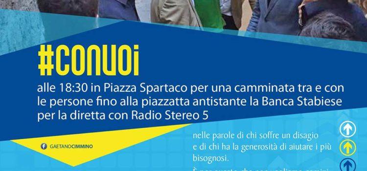 In Piazza Spartaco #Con voi