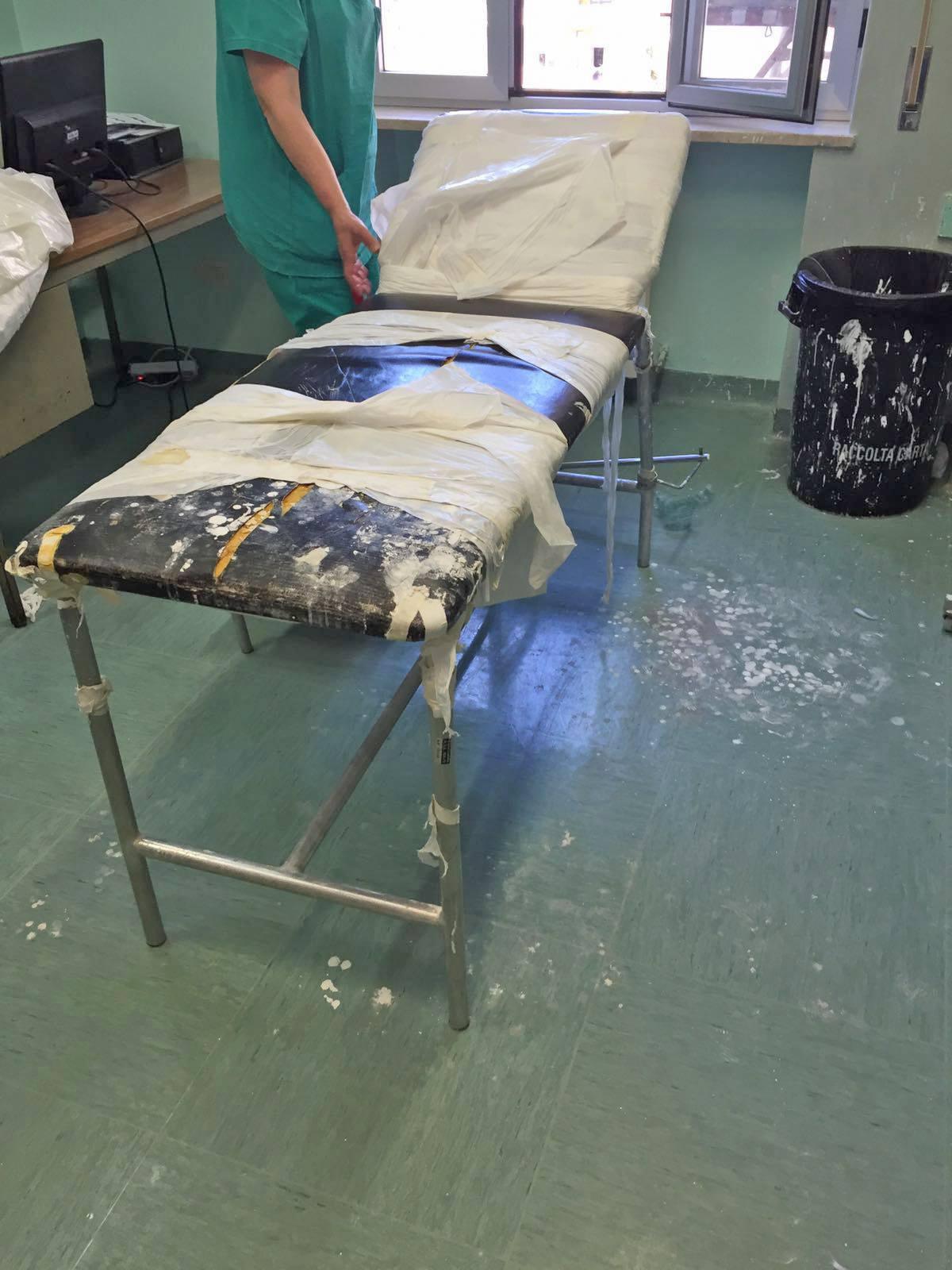 San Leonardo Ospedale stato di abbandono
