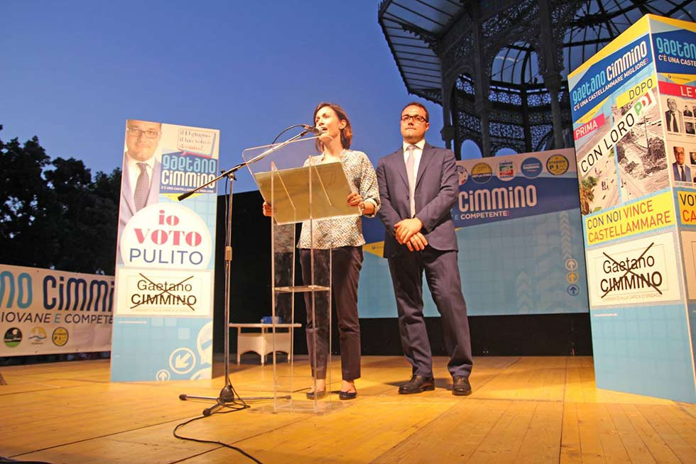 chiusura campagna elettoriale cimmino 19 giugno castmare stabia