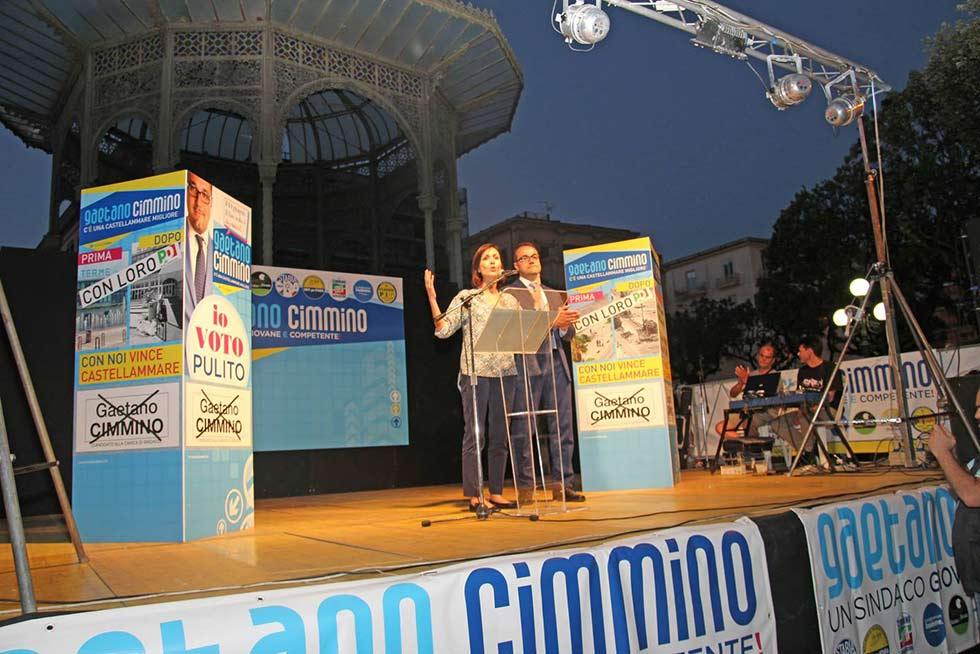 chiusura campagna elettoriale cimmino gaetano castellammare