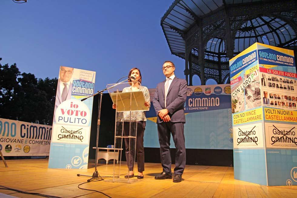 cimmino chiusura campagna elettoriale cimmino 19 giugno castellammare