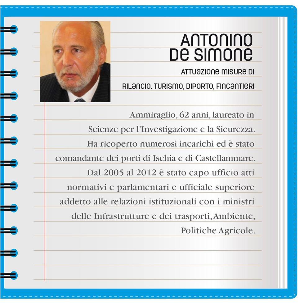Amministratore De Simone conferma disponibilità