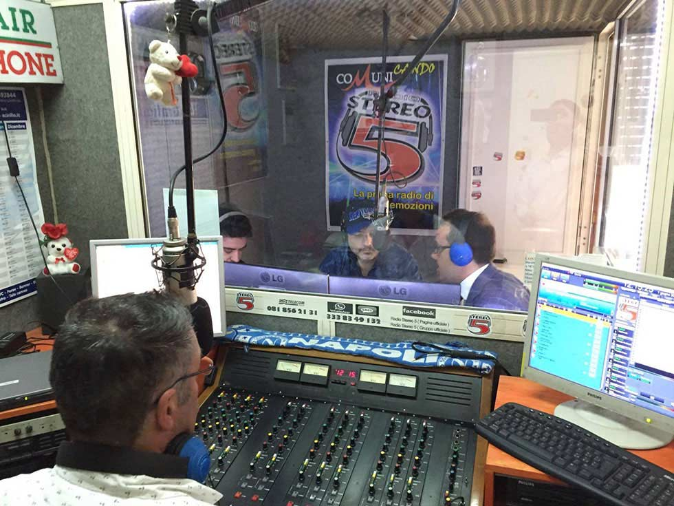 radio stereo 5 gaetano cimmino